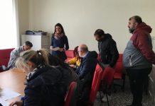 assessore palone all'incontro del corso per le licenze per la somministrazione di alimenti e bevande agli operatori ambulanti