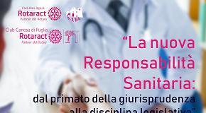 locandina convegno sulla nuova responsabilità sanitaria