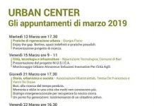 locandina eventi di marzo all'urban center