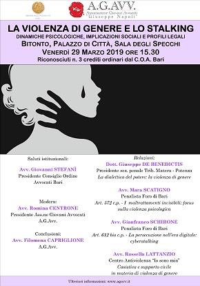 manifesto violenza genere