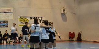rainbow volley crispiano (esultanza)
