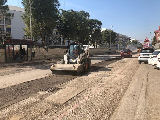 rifacimenti asfalti open fiber a san girolamo
