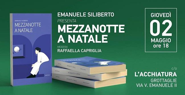locandina presentazione romanzo emanuele siliberto a grottaglie