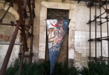 attacco d'arte urbana (homo)