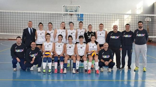 foto di gruppo argese volley crispiano 2018-19