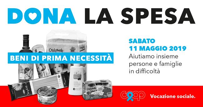 locandina dona la spesa 2019