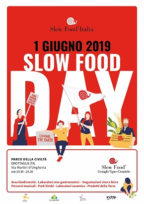 locandina slow food day