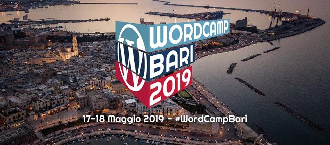 logo wordcamp bari 2019