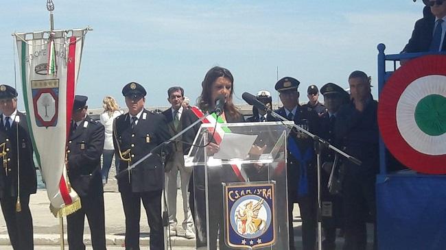 celebrazioni per il 73° anniversario della fondazione della repubblica italiana