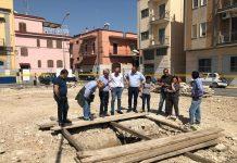 ritrovata antica cisterna sul cantiere per la riqualificazione di piazza diaz a ceglie del campo