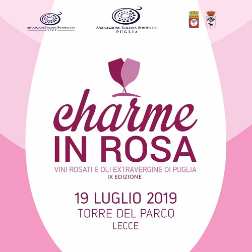 banner charme in rosa 2019