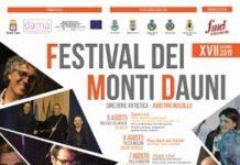 locandina festival dei monti dauni 2019