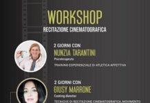 locandina workshop recitazione