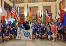 ricevuti a palazzo di città 23 ragazzi del programma di interscambio culturale del Lions club