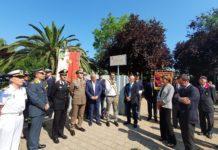 sindaco alla cerimonia di intitolazione area verde ad emanuela loi nell'anniversario della strage di via d'amelio