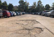 al via domani le attività di manutenzione stradali nel parcheggio della ex caserma rossani