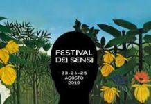 banner festival dei sensi 2019