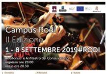 locandina campus rodi II edizione 2019