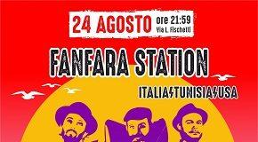 locandina fanfara station