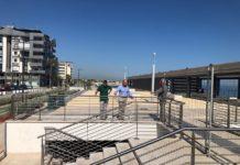nuovo sopralluogo dell'assessore galasso sul waterfront di san girolamo