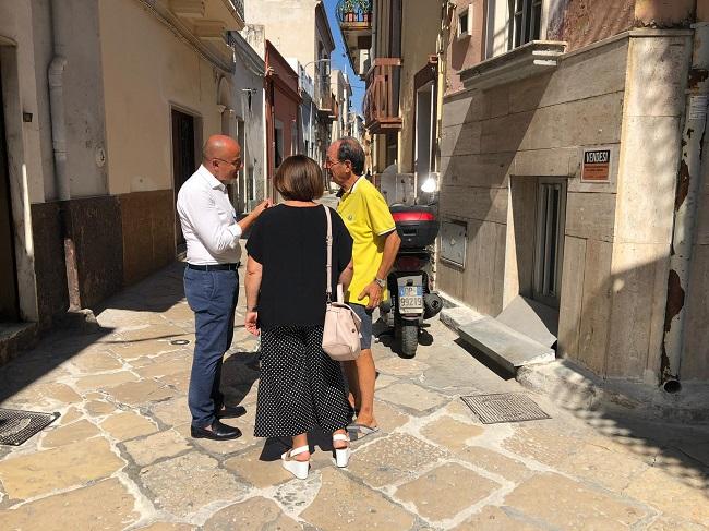 sorpalluogo assessore galasso strade centro storico carbonara