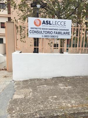 casarano - nuova sede consultorio familiare