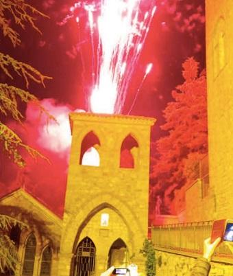 incendio del campanile