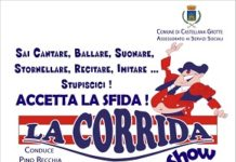 locandina corrida show