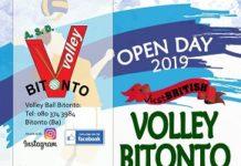 locandina open day just british volley bitonto