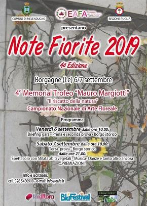 note fiorite locandina