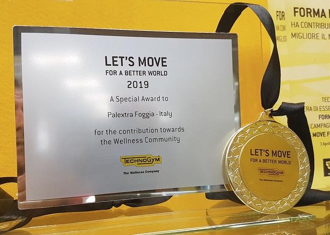 palextra premio let's move