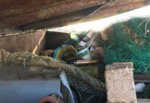 raccolta della plastica a mare