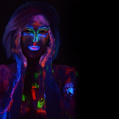 body painting fluo ale matassa