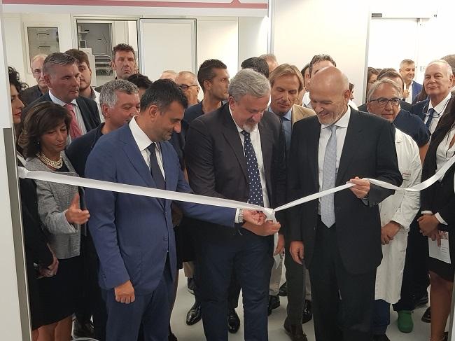 il sindaco all'inaugurazione del nuovo pronto soccorso del policlinico