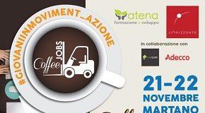 locandina coffeeJobs martano