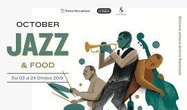 locandina october jazz & food