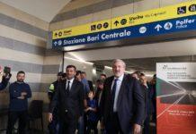 riapre al pubblico il nuovo sottopasso di bari centrale - l'inaugurazione