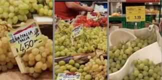 uva da tavola, i prezzi