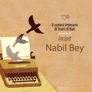 banner contest letterario per l'agenda 2020 tdb - incipit di nabil bey dei radiodervish