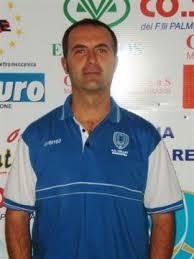 il nuovo allenatore della volleyup, beppe fanelli