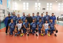 la formazione maschile di prima divisione (volleyup 2019-2020)