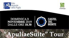 locandina apuliae suite castel del monte
