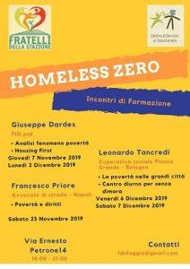 locandina homeless zero