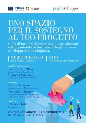 A Castellana Grotte un dibattito promosso da Puglia Sviluppo - Puglia News 24