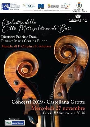 L'Orchestra Sinfonica ICO della Città Metropolitana di Bari torna a Castellana Grotte - Puglia News 24