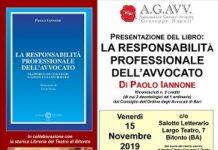 locandina presentazione libro responsabilità avvocato