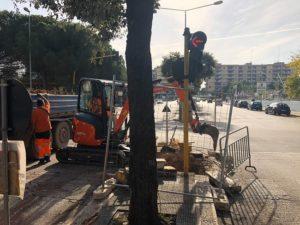 al via cantiere per impianto illuminazione pubblica in alcune strade di poggiofranco