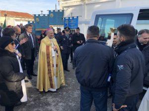 l'aeroclub di bari terza tappa del pellegrinaggio della statua della madonna di loreto
