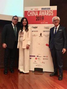 la famiglia forte ritira il china award 2019