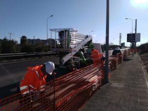 al via il cantiere per installazione nuovi corpi illuminanti su viale tatarella